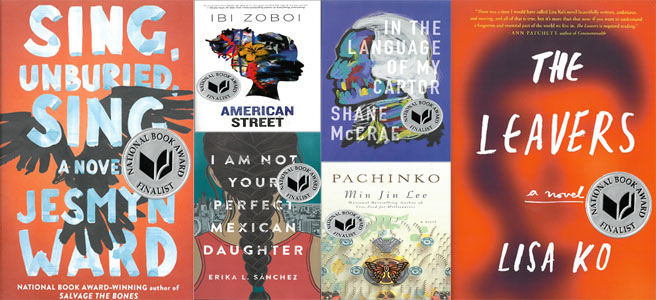 National Book Award Finalists 2017
